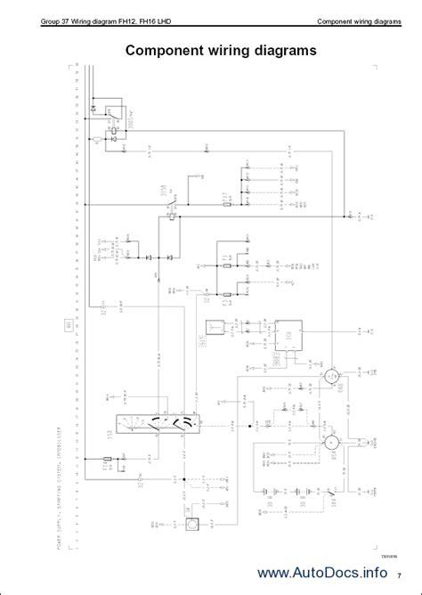 volvo trucks wiring diagrams for fm9 fm12 fh12 fh16