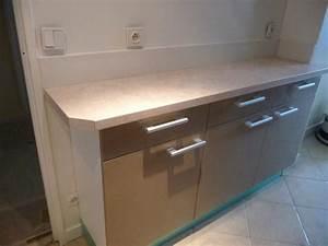 meuble bas de cuisine avec plan de travail idees de With meuble bas avec plan de travail