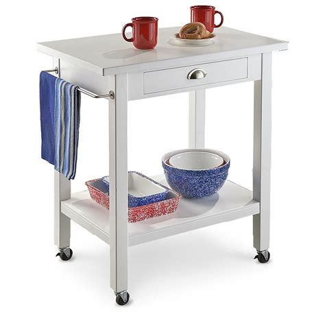 Kitchen Cart Rolling by Rolling Kitchen Cart 189595 Kitchen Dining At