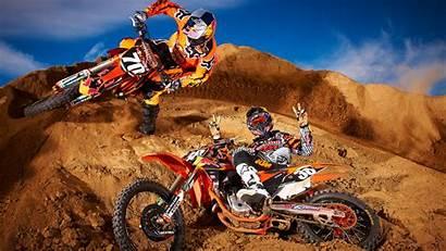 Dirt Motocross Bike Ktm Wallpapers Desktop Background