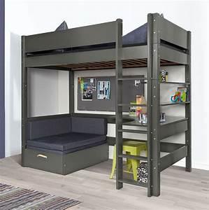 Hochbett Mit Sofa : hochbett mit sofa und schreibtisch bestellen kids town ~ Watch28wear.com Haus und Dekorationen