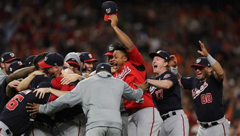 world series game  nationals top astros  win franchise