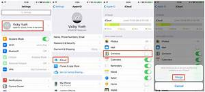 Synchroniser Contact Iphone : 4 ways to transfer contacts from iphone to iphone 7 7 plus imobie ~ Medecine-chirurgie-esthetiques.com Avis de Voitures