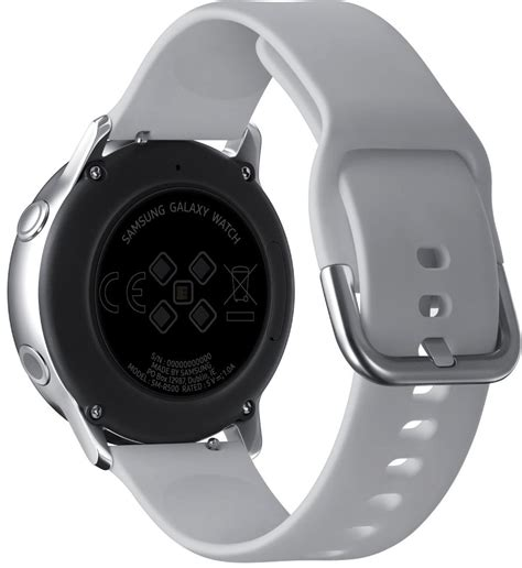 According to sammobile, the galaxy watch 4 will utilize an exynos w920 chipset, which will massively boost. Samsung Galaxy Watch Active Silver | BestPrice.gr
