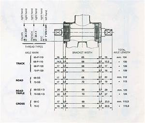 Bicycle Crank Parts Diagram