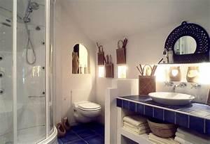 inspiration decoration salle de bain ethnique With meuble salle de bain ethnique