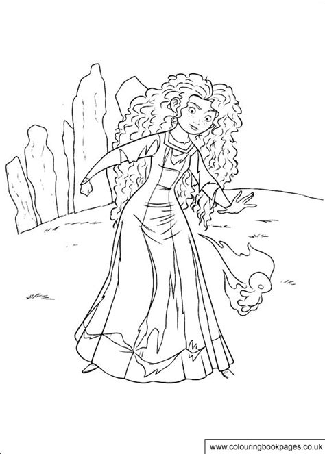 brave colouring pages  preschool paintable