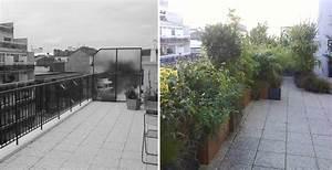 Aménagement Toit Terrasse : am nagement d 39 un toit terrasse paris ~ Melissatoandfro.com Idées de Décoration