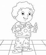 Hygiene Coloring Teeth Personal Brush Pages Brushing Printable Sheet Worksheets Sheets Grade Drawing Kinder 1st Activities Diary Kid Healthy Dental sketch template