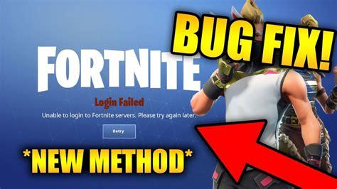 unable  login  fortnite servers