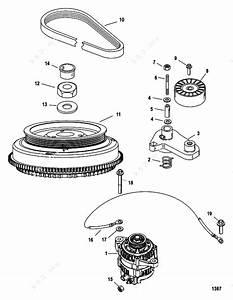 Mercury  Mariner 225 3 0l Efi  Flywheel  Alternator