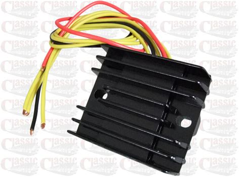 Solid State Three Phase Regulator Rectifier 12volt For