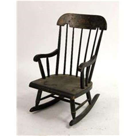 hitchcock style rocking chair an american hitchcock style stenciled rocking chair