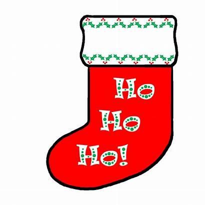 Christmas Cartoon Stocking Cliparts Sock Clipart Attribution