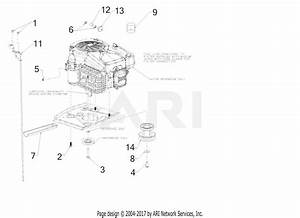 Mtd Cr30h  13a721jd897   2017  Parts Diagram For Engine Accessories