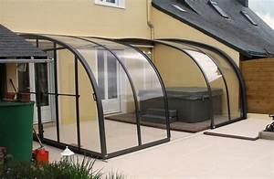 Abri De Terrasse Retractable : abri de terrasse 3 l ments lamatec ~ Dailycaller-alerts.com Idées de Décoration