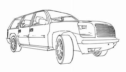 Outline Suv Drawing Vector Illustration Hand Depositphotos