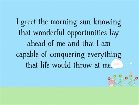 morning affirmations    start  day