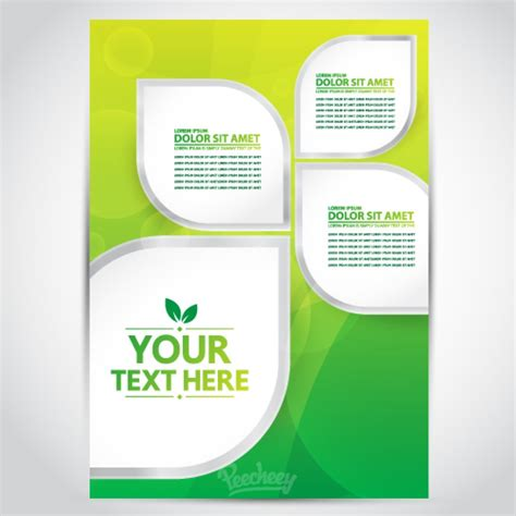 Pages Brochure Templates by Yellow Brochure Peecheey