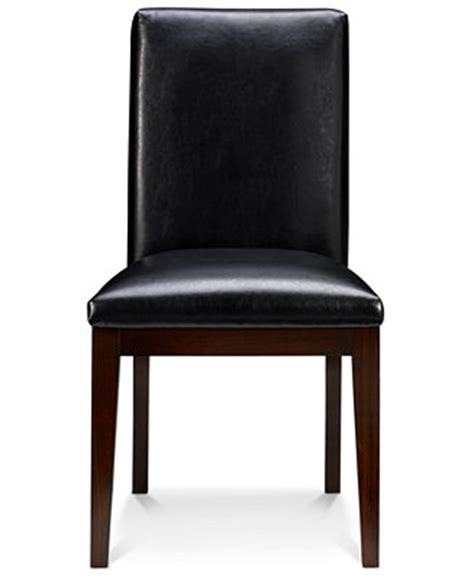 corso dining room chairs leather set of 6 furniture