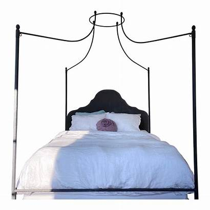 Iron Restoration Hardware Bed Canopy Queen Sized