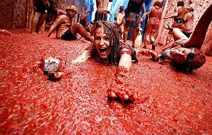 Chill Box Of Pics Tomatina Festival 2019 In Bunol Spain