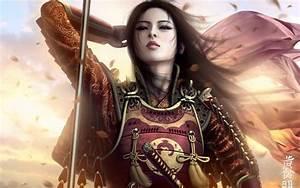 Magazine Wallpaper: Warrior Women Dark Fantasy 3D Art ...