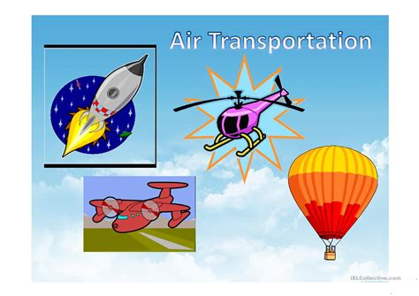 Land,air,water Vehicles Worksheet