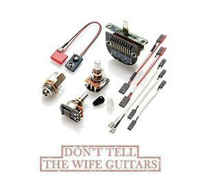 Emg Set Tele Solderless Conversion Wiring Kit For