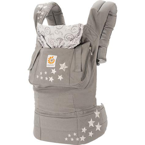 porte bebe nouveau ne porte b 233 b 233 physiologique original coussin nouveau n 233 gris cosmique de ergobaby sur allob 233 b 233
