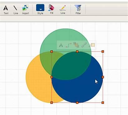 Venn Using Create Diagrams Fade Diagram Creately