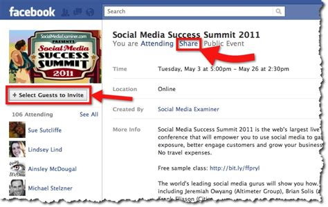 Six Ways To Effectively Promote Events On Facebook Case