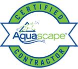 Aquascape Logo by Genoscape Inc Landscaping Design Services In Markham