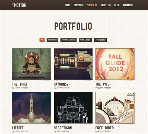 free portfolio website templates 25 free and premium portfolio website template ginva