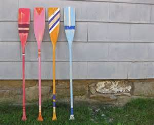 diy painted oars diy pinterest