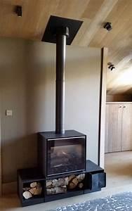 Installation Poele À Bois : installation po le bois granul s chemin e jotul scan atra ild ~ Dallasstarsshop.com Idées de Décoration