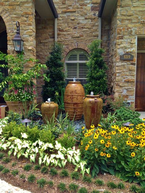 home and garden decor front yard takes the best water feature for