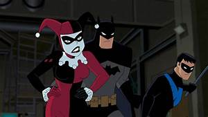 New Batman: The Animated Series movie, Batman and Harley ...