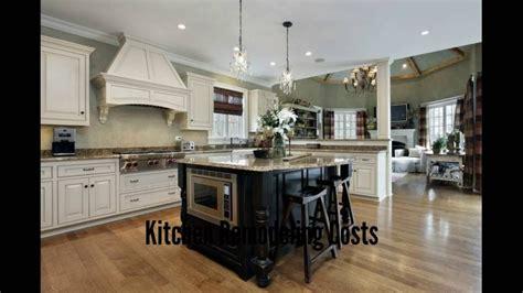 Kitchen Remodeling Costs  Kitchen Remodeling Cost Youtube