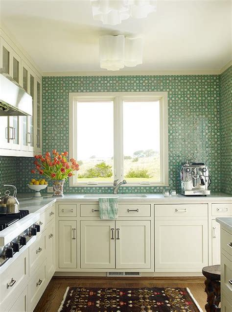 green tile backsplash kitchen green mosaic tile backsplash roselawnlutheran