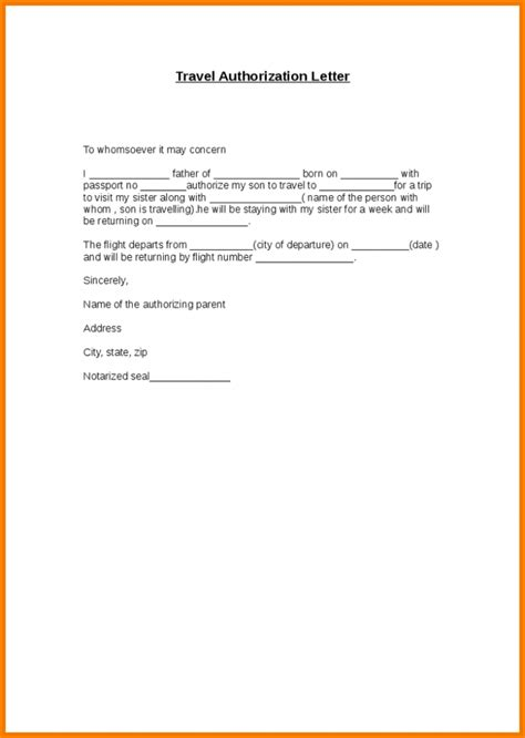 authorisation letter sample  collect passport
