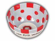 big ceramic bowl novelties at ohiostatebuckeyescom With kitchen colors with white cabinets with what are the stickers on ohio state s helmets