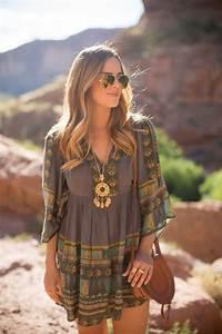Mode Hippie Chic : comment portet la robe hippie chic ~ Voncanada.com Idées de Décoration