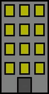 Large Apartment Building Clip Art at Clker.com - vector ...