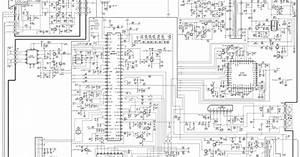 Diagram  Hitachi Ct5031k Projection Color Tv Schematic