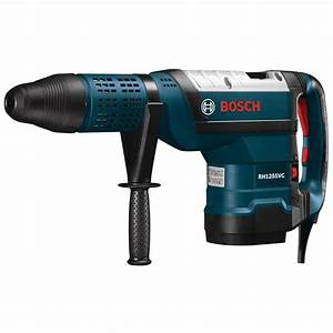 Bosch 15 Amp Corded 2 in. SDS-Max Rotary Hammer Drill with ...