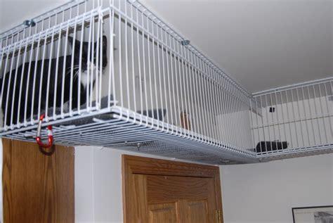diy wire shelves catwalk petdiyscom