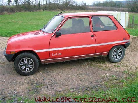 les petites renault renault 5 le car 1978