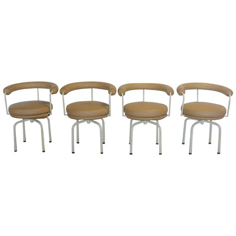stylish lc7 chairs by jeanneret perriand and le