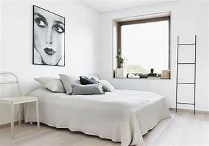 Deco Chambre Blanche : une chambre blanche la d co pur e la chambre blanche ~ Zukunftsfamilie.com Idées de Décoration
